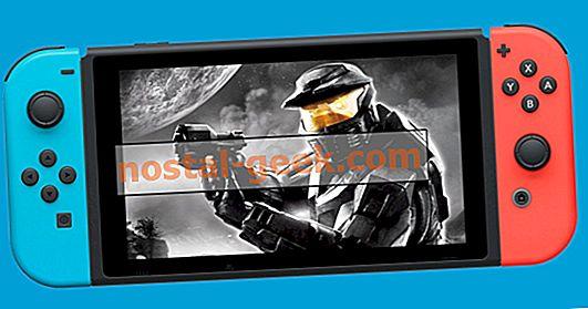 Nintendo Leaker avec de bons indices sur Halo pour Switch