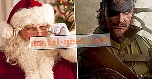 메탈 기어 솔리드 게임 디테일 : 빅 보스, 정식으로 산타를 믿는다