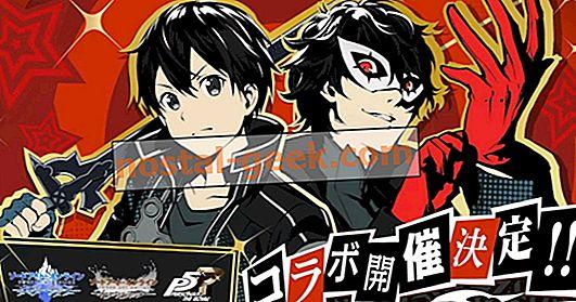 Joker e Kirito uniscono le forze nel nuovo crossover online Persona 5 Royal x Sword Art