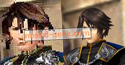 Squall ist offiziell der am besten aussehende Typ im Raum in New Final Fantasy VIII Remastered Screenshot
