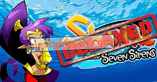 Консоль и компьютер выпустили Shantae и семь сирен с задержкой
