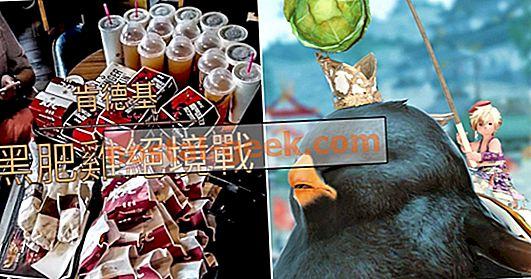 KFC cinese offre chocobos FF14 ai giocatori che possono mangiare una quantità di pollo ridicola