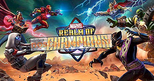 Marvel Realm Of Champions sieht aus wie ein vielversprechendes mobiles Rollenspiel