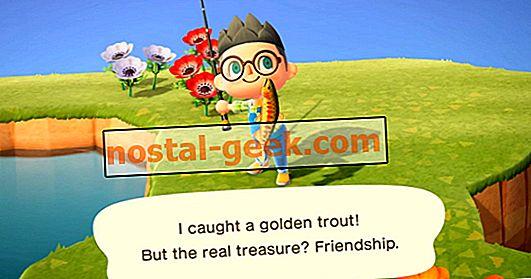 Animal Crossing: New Horizons - Cara Menangkap Golden Trout yang Berharga