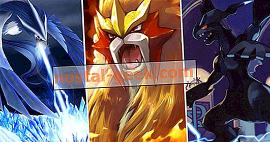 Beri peringkat Semua Pokemon Legendaris Dari Terburuk hingga Terbaik