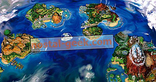 10 Dinge, die Sie an der Pokémon Sun & Moon Map nicht bemerkt haben