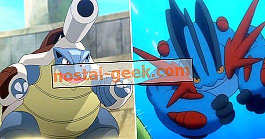 Pokémon: chaque méga-évolution de démarrage, classé
