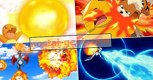 ポケモン:火炎放射器よりも強力な10の火の動き