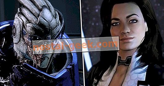 Original Mass Effect Trilogy Companions, Rangliste