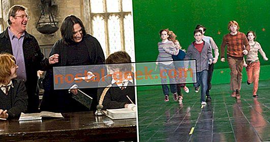 Harry Potter: 30 Foto Di Balik Layar yang Mengubah Cara Kita Melihat Film