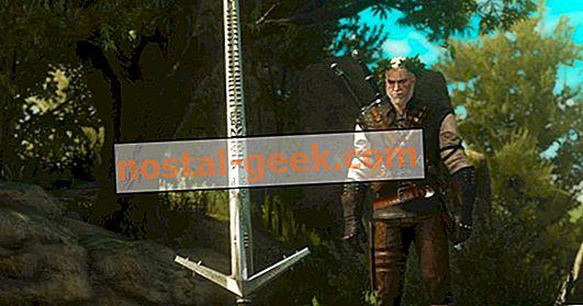 The Witcher 3: Un guide pour l'emplacement de chaque forgeron (et leurs niveaux)