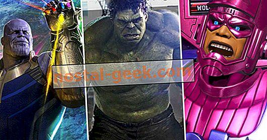 25 Karakter Paling Kuat di Marvel Universe